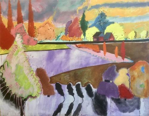 Hop Fields in Kent - Yvonne Parr
